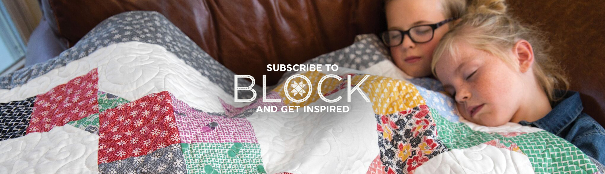 BLOCK Magazine Header