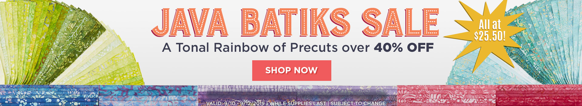 Great prices & selection | Stunning quilting precuts & quilt