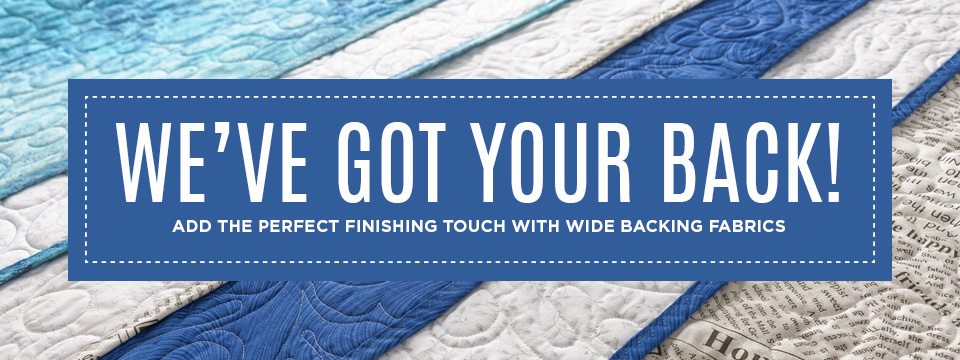 Quilt Backing & Wide Fabric — Missouri Star Quilt Co