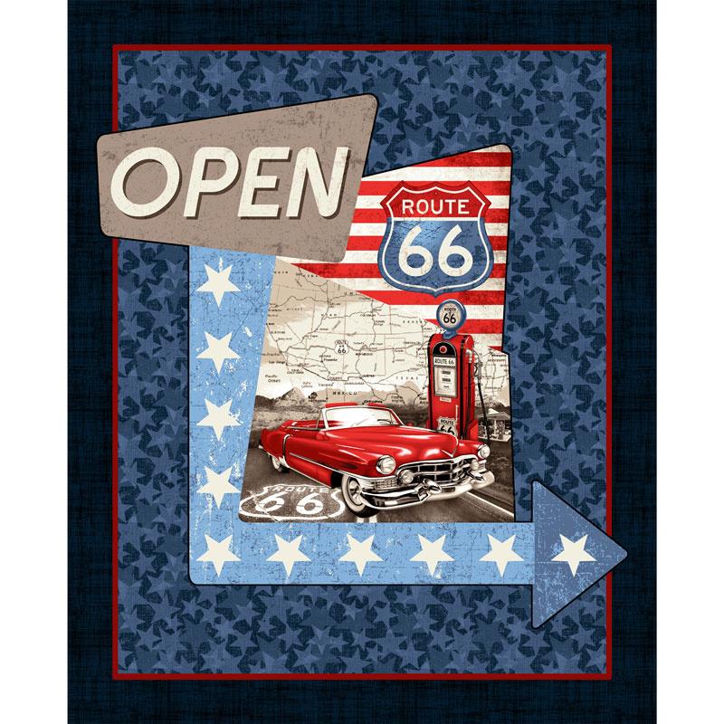 All American Road Trip - Car Navy Panel