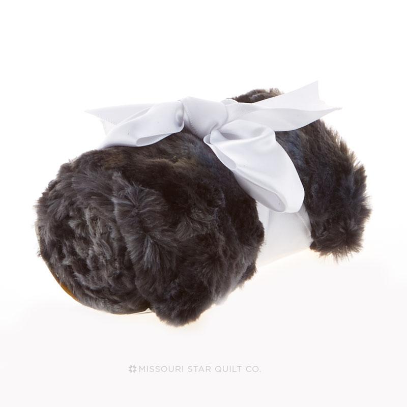 Cuddle Minky Scarf Kit - Rabbit Grey