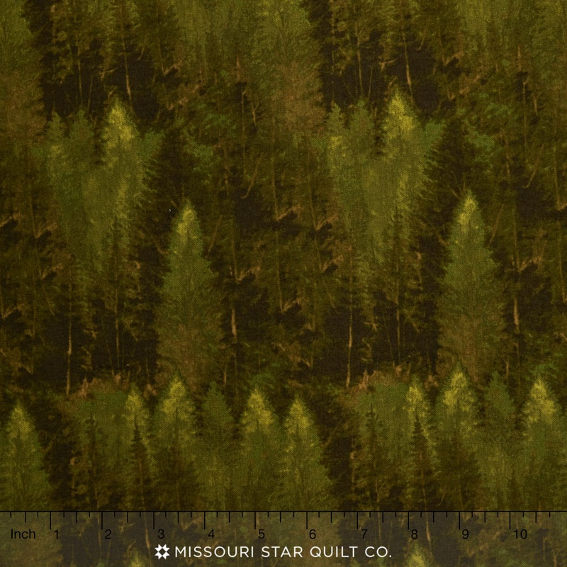 Majestic Outdoors - Majestic Forest Green Yardage