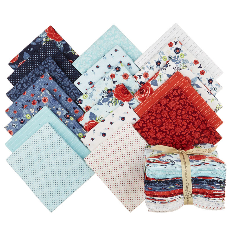 Hedge Rose Fat Quarter Bundle