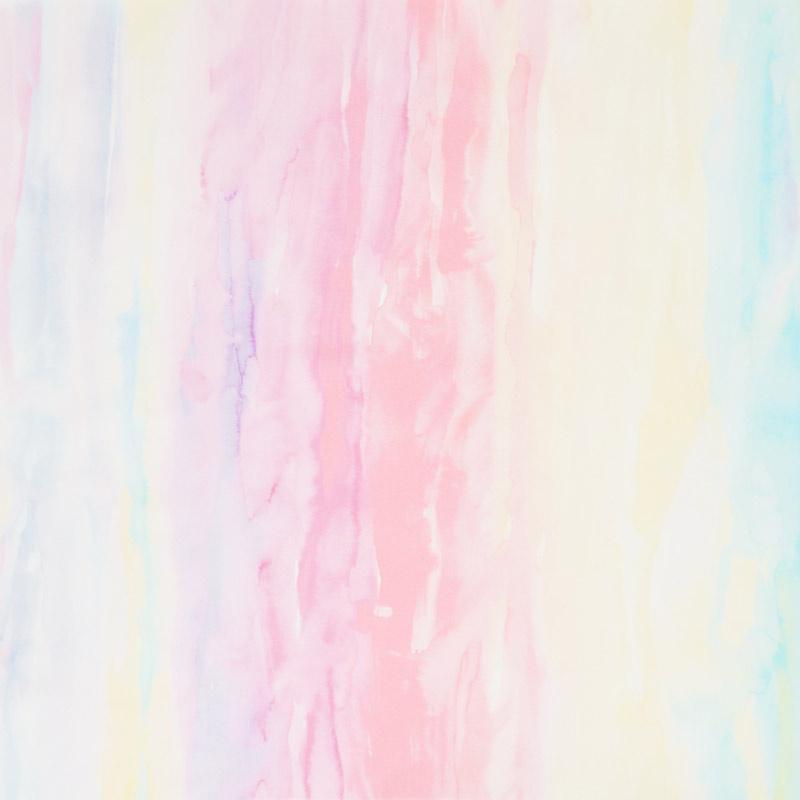Gradients 2 - Parfait Watercolor Rainbow Digitally Printed Yardage