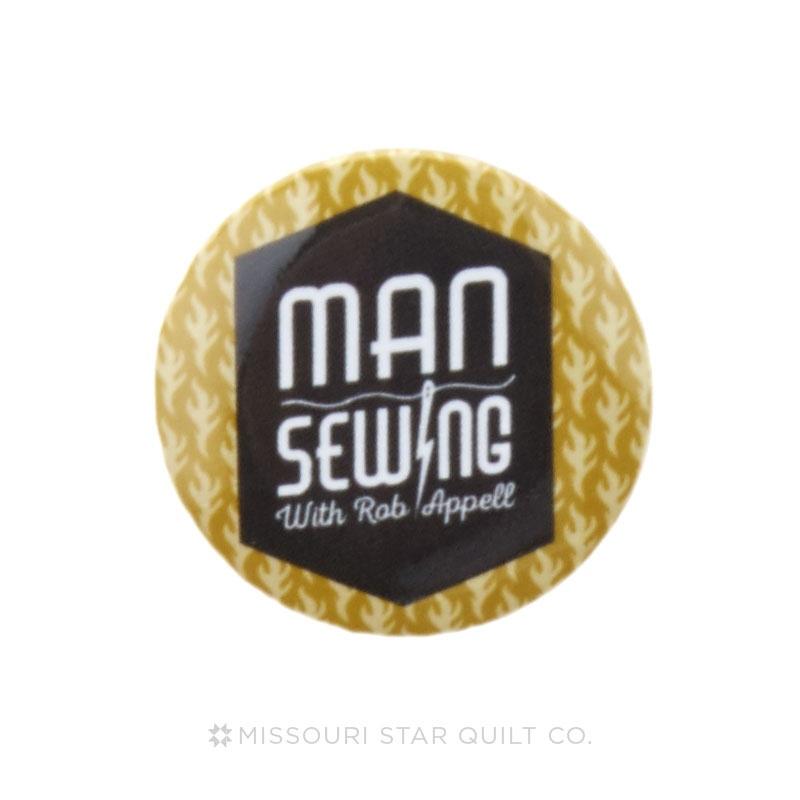 Man Sewing Logo 1 1/4