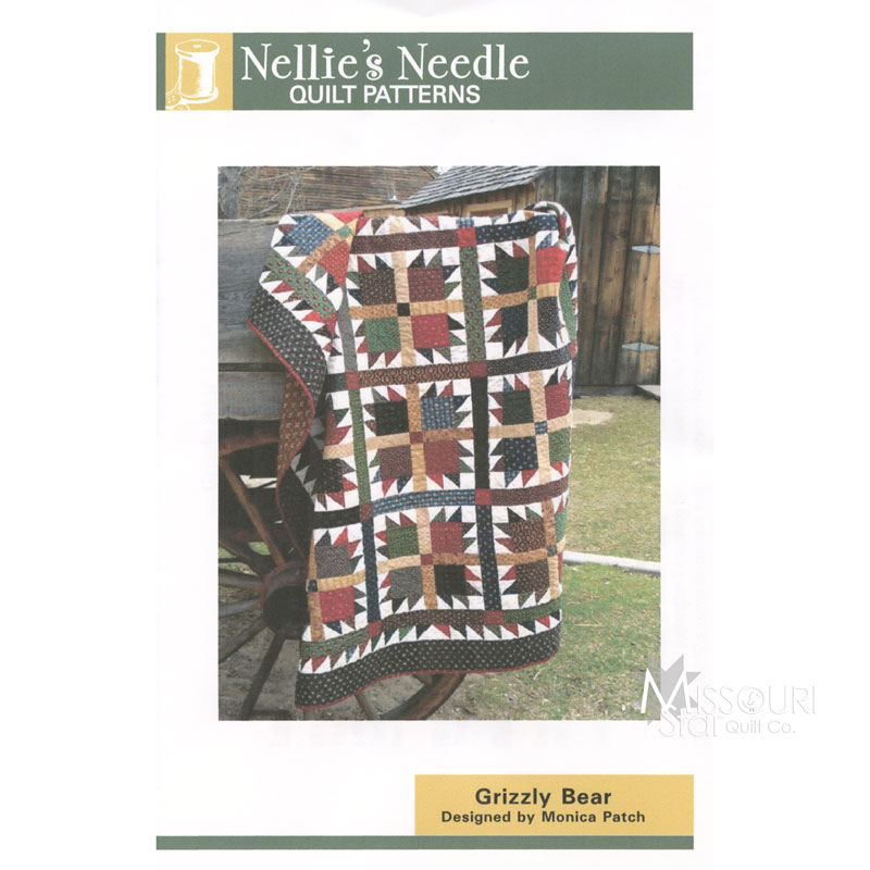Grizzly Bear Pattern Nellies Needle Missouri Star Quilt Co