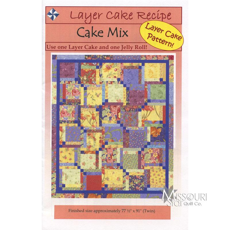 Cake Mix Pattern Cozy Quilt Designs Missouri Star