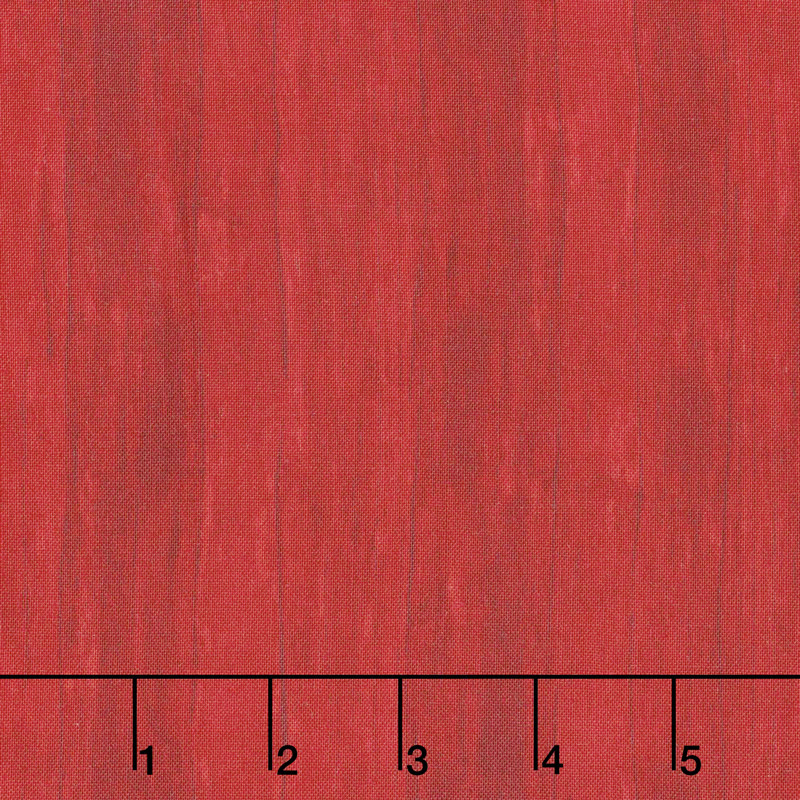 7th Inning Stretch - Wood Texture Red Yardage