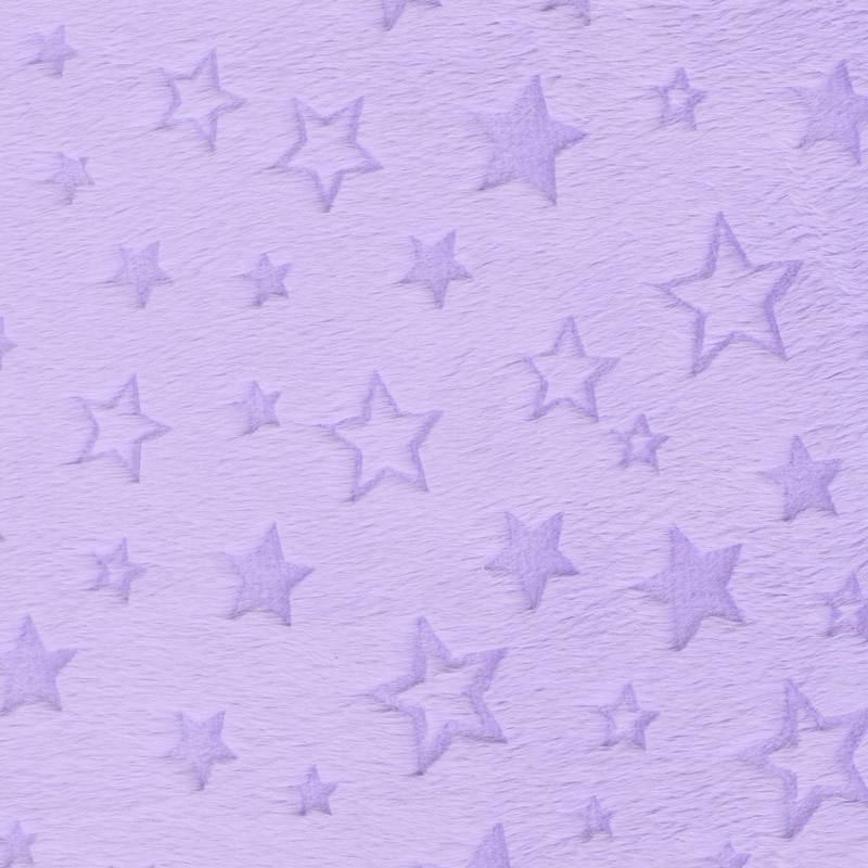 Cuddle Embossed Star - Lilac 60