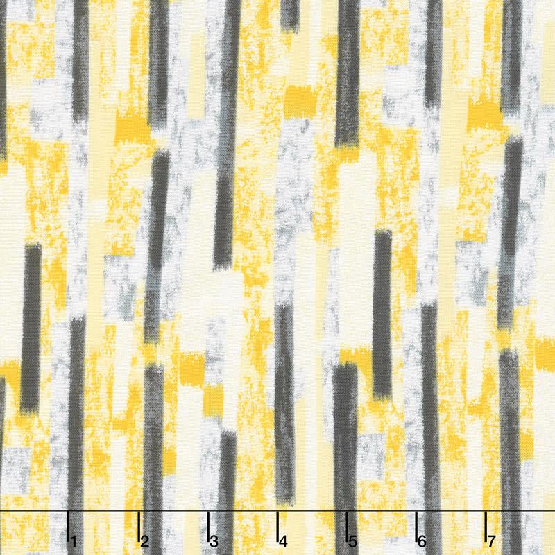Limoncello - Chimes Goldenrod Pearlized Yardage