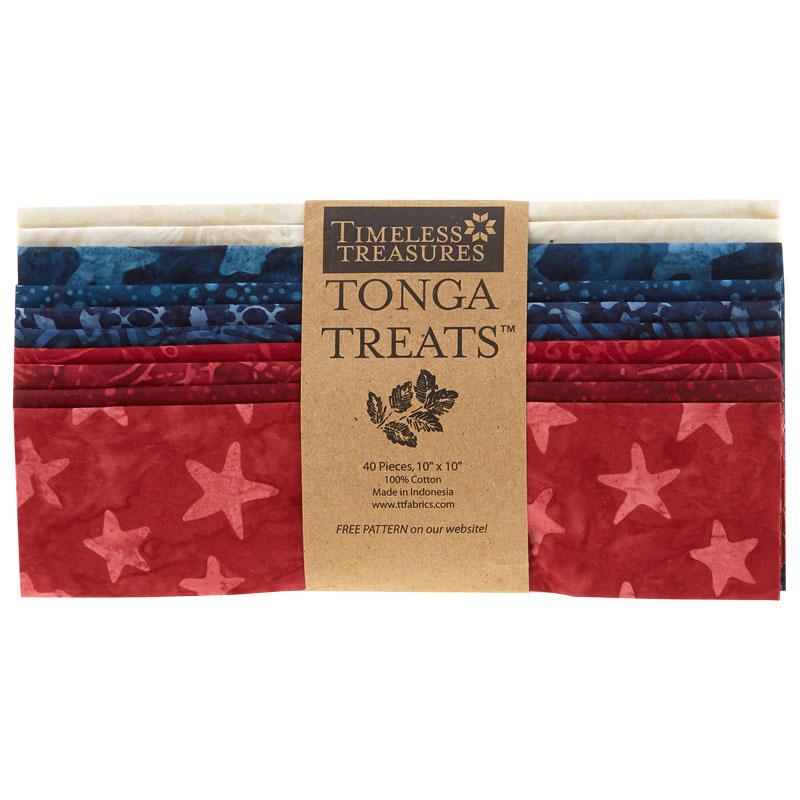 Tonga Treats Batiks - Patriots 10