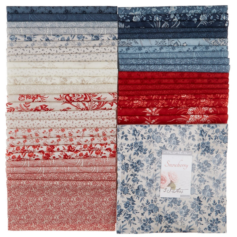 Snowberry Prints Layer Cake 3 Sisters Moda Fabrics