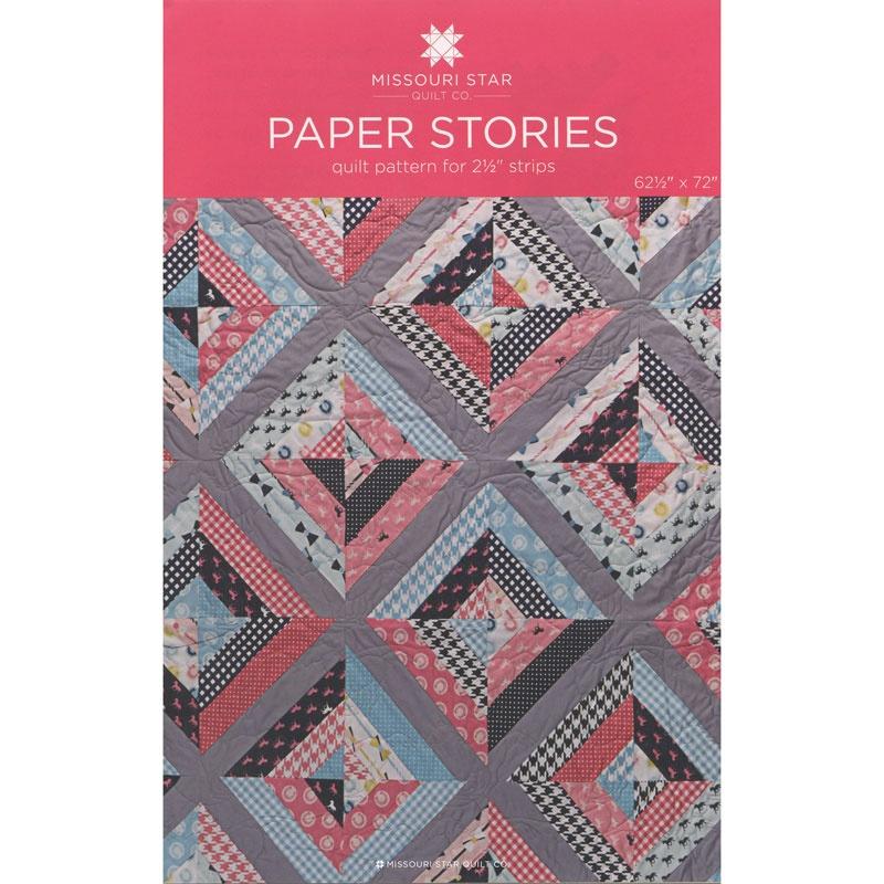 Paper Stories Quilt Pattern by MSQC - MSQC - MSQC — Missouri Star ... : missouri star quilt company forum - Adamdwight.com