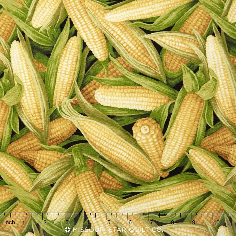 Farmer John's Garden Party - Corn Yellow Yardage