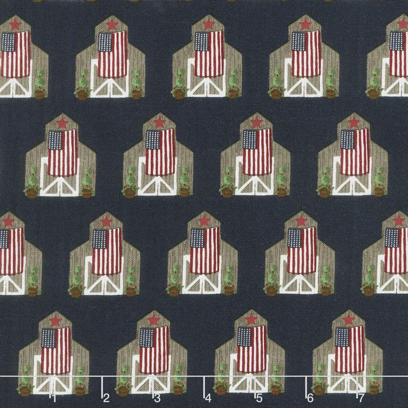 Celebrate America! - Barns Navy Yardage