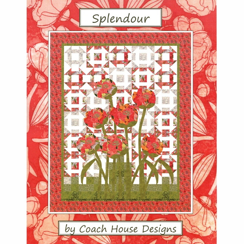Splendour Pattern - Barb Cherniwchan - Coach House Designs