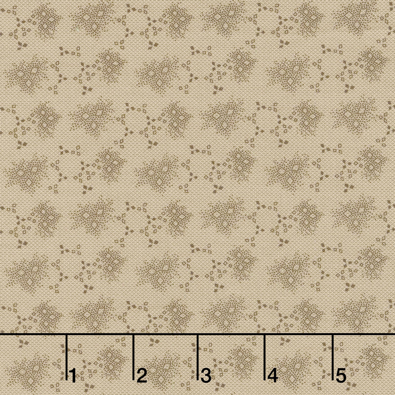 Baltimore House - Little Diamonds Tan Yardage