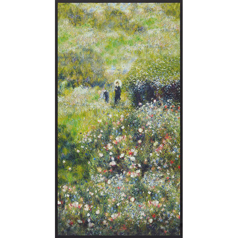 Renoir - Flowers Garden Digitally Printed Panel