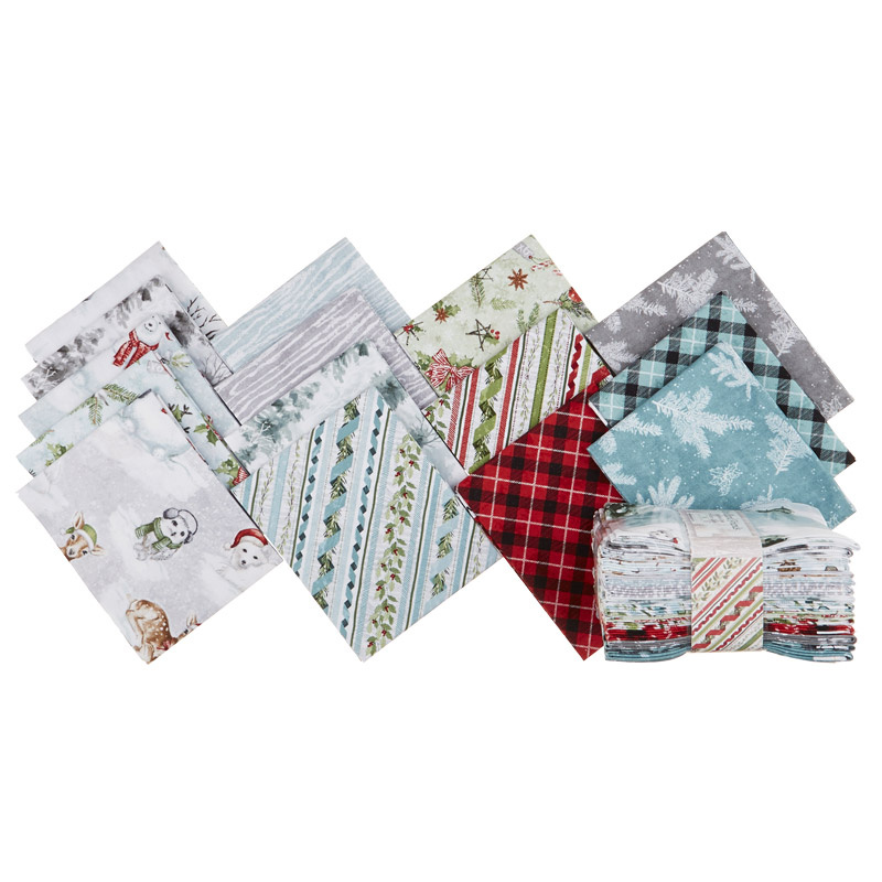 Woodland Friends Fat Quarter Crystals