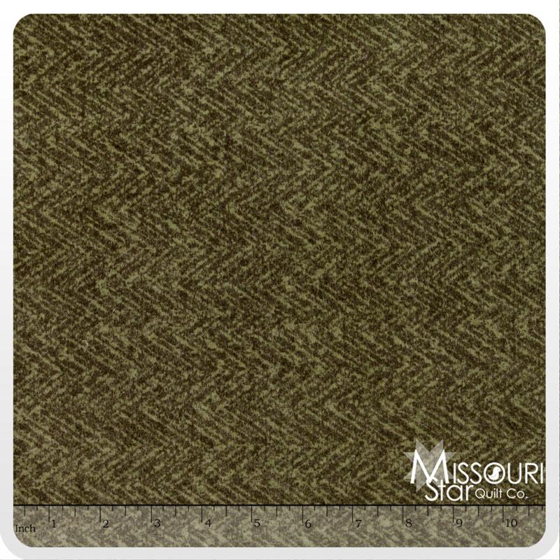 Wool & Needle Flannels 2 - Sage Yardage