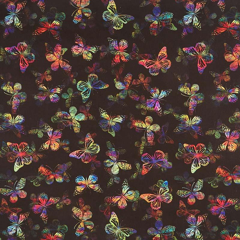 Urban Jungle - Butterflies Multi Yardage