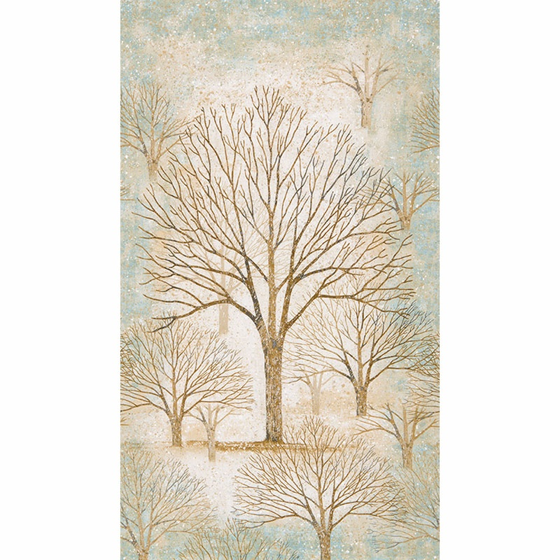 Sound Of The Woods 2 Tree Frost Metallic Panels