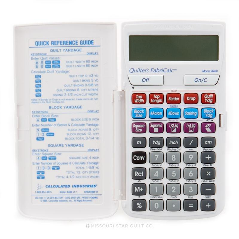 Quilter's FabriCalc Calculator
