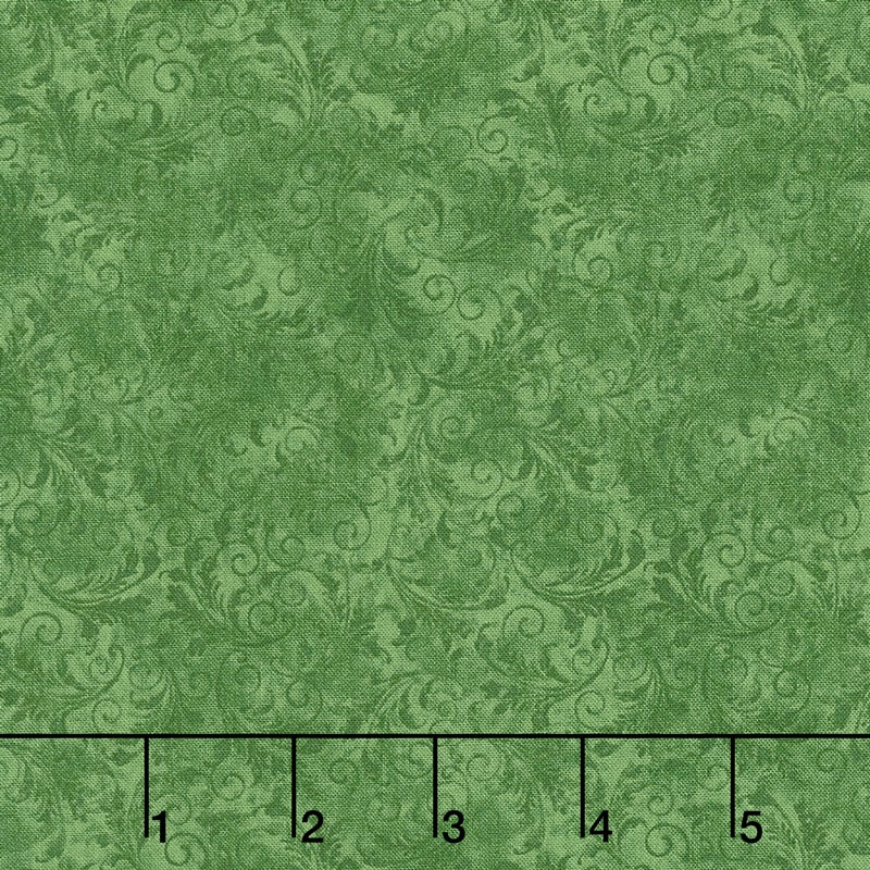 Echo - Tonal Filigree Emerald Yardage