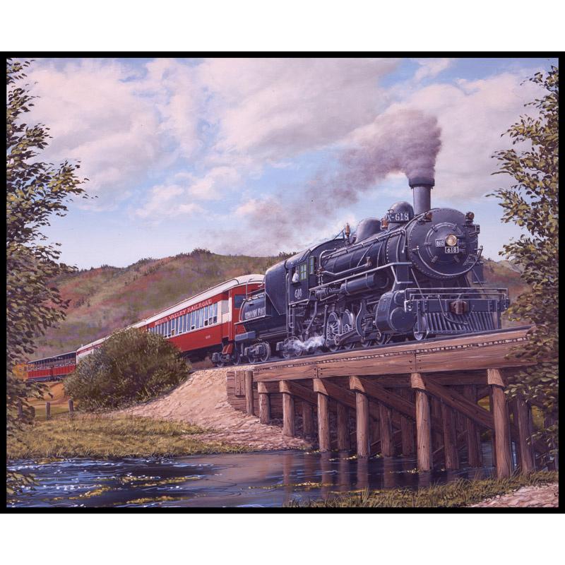 Locomotion - Train Brown Panel