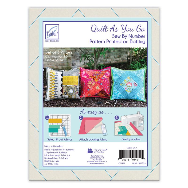 June Tailor Quilt As You Go 80//20 Cotton Stepsnquilt