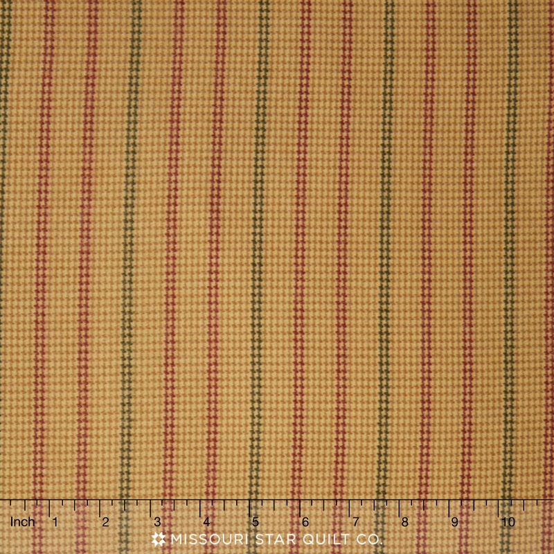 Berkshire Flannels - Hounds Tooth Tan Yardage