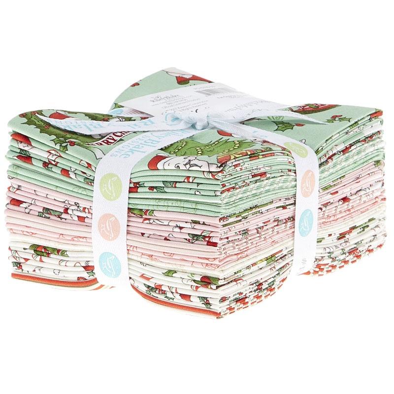 Kewpie Christmas Fat Quarter Bundle