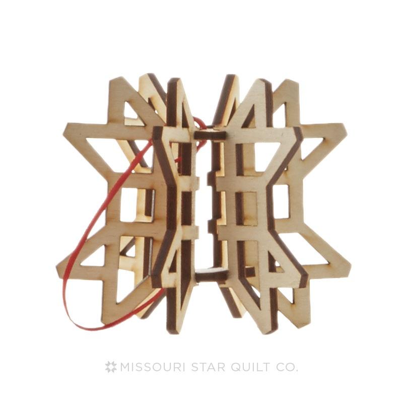 3D Binding Star Ornament