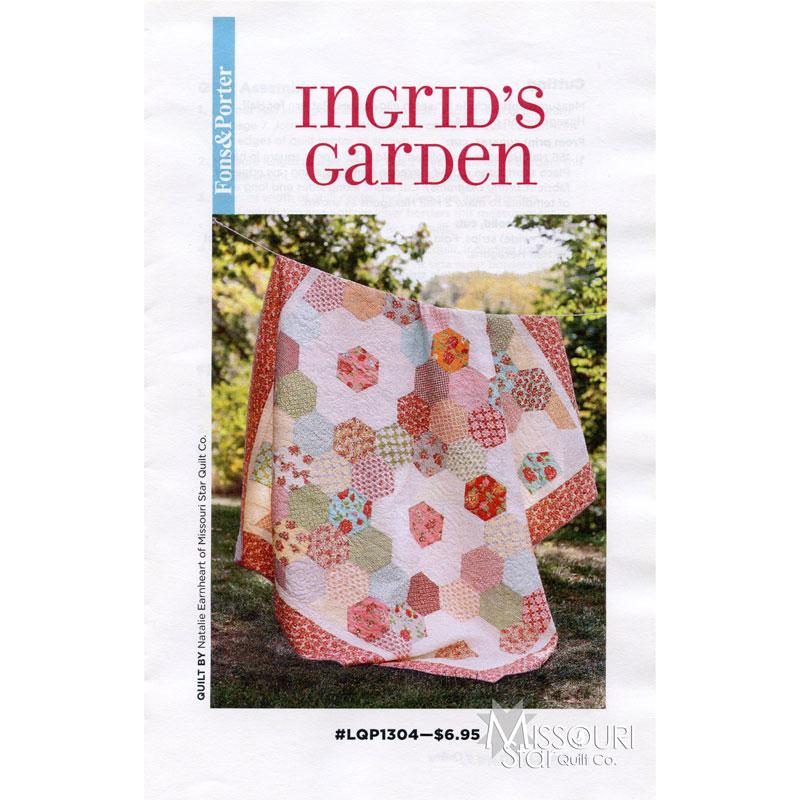 Ingrid S Garden Pattern Fons Porter Fons Porter