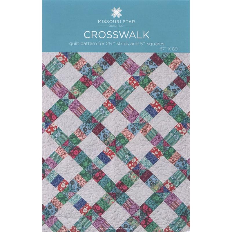 Crosswalk Pattern By Missouri Star Missouri Star Quilt