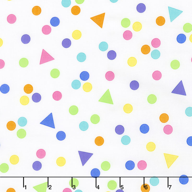 Confetti - Crazy Confetti Multi Yardage