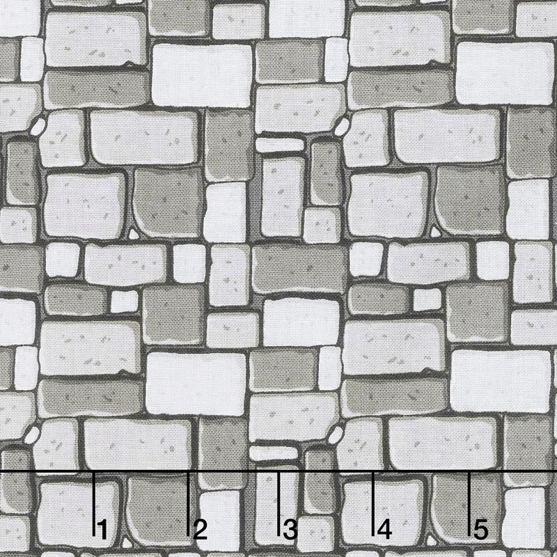 Dragons - Rock Gray Yardage