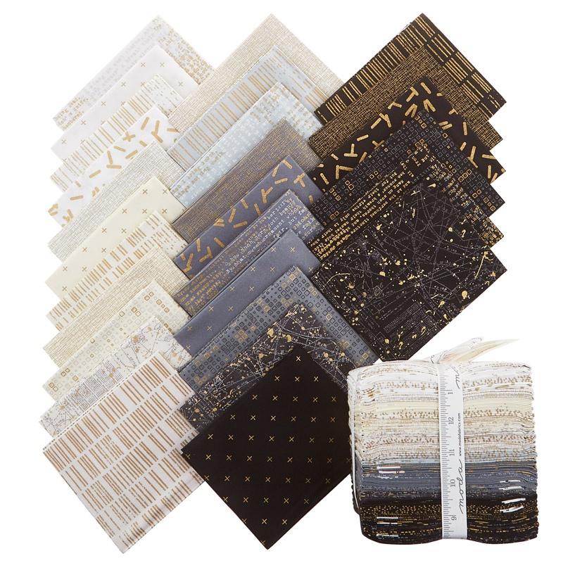 modern background luster metallic fat quarter bundle zen chic moda fabrics missouri star. Black Bedroom Furniture Sets. Home Design Ideas