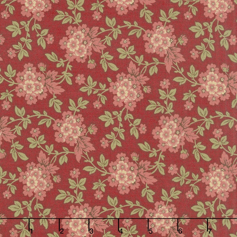 Atelier De France - Bordeaux Rouge Yardage