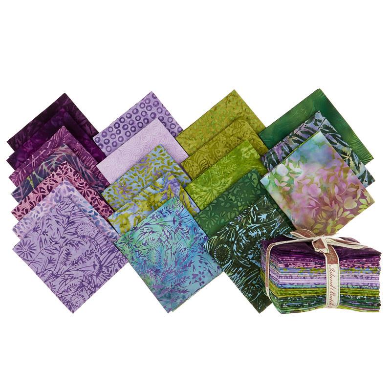 Enchanted Forest Batiks Fat Quarter Bundle