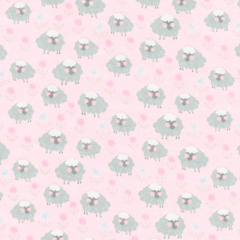Comfy Flannel® - Sheep Pink