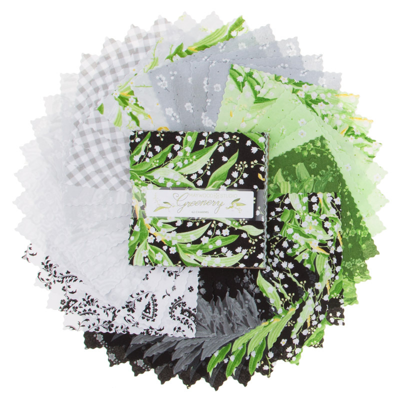 Greenery Favorites Charm Pack