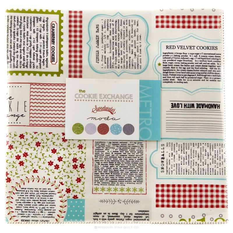 The Cookie Exchange Layer Cake Sweetwater Moda Fabrics