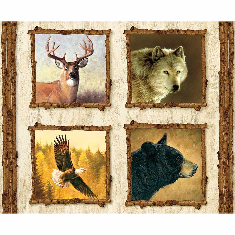 Majestic Outdoors - Majestic Pillow White Digitally Printed Panel