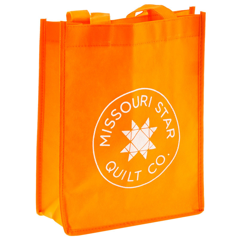 Missouri Star Reusable Shopping Tote - Orange