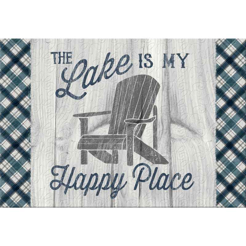 A Day at the Lake Place Mat Kit