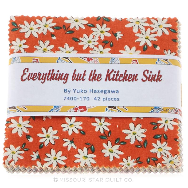 Everything But the Kitchen Sink 2014 Charm Pack - Yuko Hasegawa ...