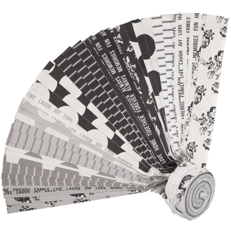 Urban Cottage Cotton Prints Jelly Roll