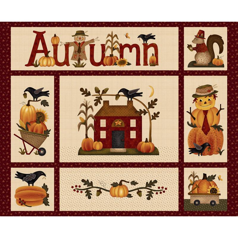Buttermilk Autumn - Autumn Panel