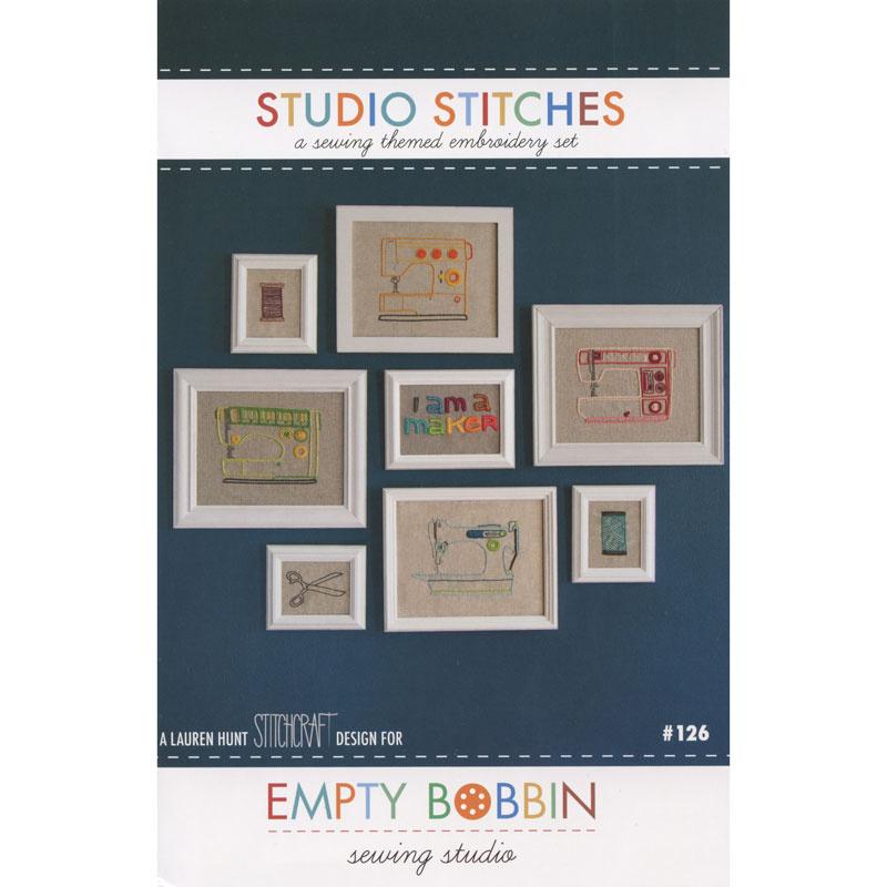 Studio Stitches Embroidery Pattern